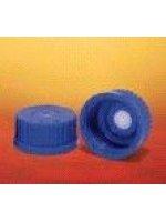 Винтовые крышки из РР с мембранойиз PTFE для компенсации давления, GL 45, синий (Кат. № 1088655) (5 шт/уп)
