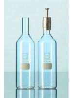 Бутылка культуральная, цилиндрическая, 200 мл, D=50 мм, h=175 мм, d=18 мм (214213201)