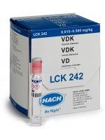 alpha-дикетоны (диацетон), 0,015-0,5 мг/кг, Тест-набор LANGE LCK242, кюветный, (25 тестов)