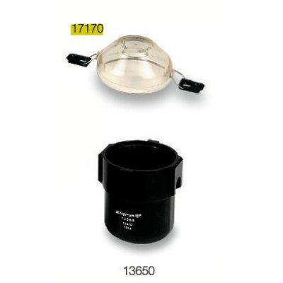 Крышка полисульфоновая с 2 зажимными клипсами, к стакану 13450 и 13650, 2 шт, SIGMA (17170)