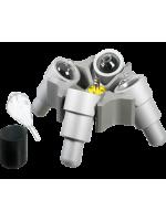 Бакет-ротор для Rotanta 460/460R, 4 местный, (2000rpm, 984g), для пробирок ASTM, без стаканов, Hettich (Кат № 4474)