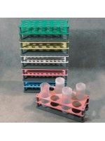 Штатив для пробирок, диам. 30 мм, 18 мест, полипропилен, Aptaca (Кат № 10437), арт 12005312