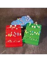 Штатив для микропробирок, 0,2-1,5 мл, 43 места, проб типа Эппендорф, полипропилен, трехуровневый, Aptaca (Кат № 10420), арт 12005328