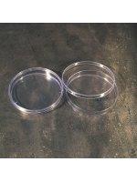Чашки Петри микробиологические (PS - полистироловые, d 100 мм, стерильные), 10 шт./уп., Aptaca (Кат № 141/SG), арт.11000206