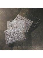 Планшет иммунологический без крышки, 96 лунок, (полистирол, U-образное дно, стерильный), 50 шт/уп., Aptaca (Кат № 5096/U/SG)