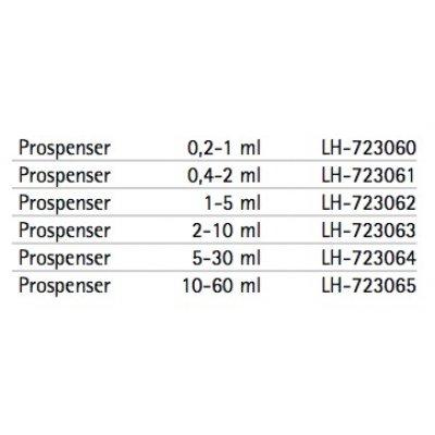 Biohit Prospenser механический дозатор (диспенсер) Кат. №: LH-723061 1-канальный варьируемого объема 0,4 - 2 мл