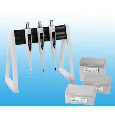 Набор из 3 шт дозаторов Biohit Proline Plus, 0.5–10 мкл, 10–100 мкл и 100–1000 мкл Кат. № LH-728670
