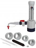 Бутылочный диспенсер Brand Dispensette III 5- 50 мл, Аналоговая установка объема, (без предохранительного клапана) (Кат № 4700160)