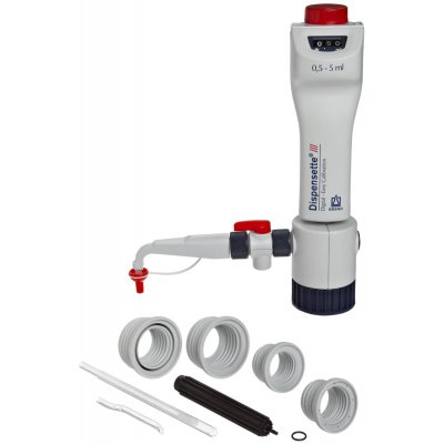 Бутылочный диспенсер Brand Dispensette III Easy Calbration 1- 10 мл (без обратного клапана) (Кат № 4700340)