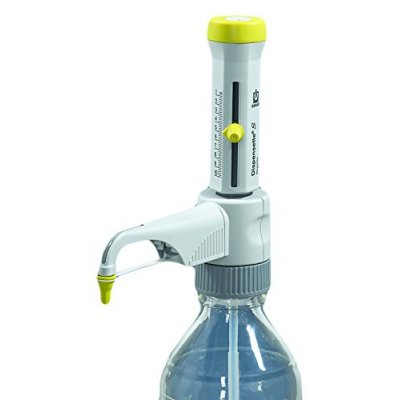Бутылочный диспенсер Brand Dispensette S Organic, 10- 100 мл (аналоговая установка объема, с рециркуляционным клапаном) (Кат № 4630171)