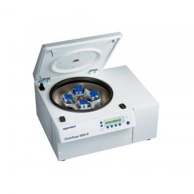 Центрифуга Eppendorf 5804R лабораторная с охлаждением (14000 об/мин, 20800g) , с бакет-ротором S-4-72 (4200 об/мин, 3234g, адаптеры на 15/50 мл/ Falcon) (Кат № 5805000629)