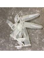 Пробирки типа Эппендорф, 1,5 мл, (PP, бесцветные, градуированные), 500 шт./уп., БиоПласт, арт. 11005513