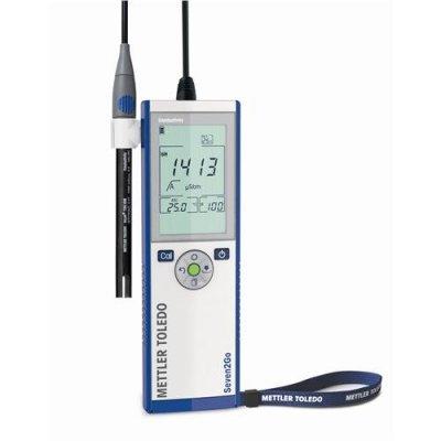 pH метр Mettler Toledo S2-Standart kit Seven2Go (-2– 20,00 рН/± 0,01 рН, с электродом InLab Expert Pro-ISM-IP67)  (Кат № 30207950)