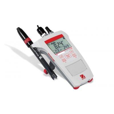pH метр OHAUS Starter ST300 (0,00...14,00 pH х 0,01 рН, пластиковый гелевый pH-электрод ST320, набор порошкообразных буферов pH в пакетиках)