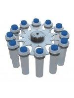 Бакет-ротор R-12/10, для LMC-3000 и LMC-4200R, 4200 об/мин, 1700/3370g, 12x10-15 мл, Biosan (Кат № BS-010208-BK)