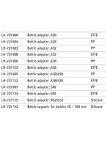 Адаптеры для бутыли для дозаторов Prospenser, Prospenser Plus и Biotrate (Кат. №: LH-721683 -- LH-721742)
