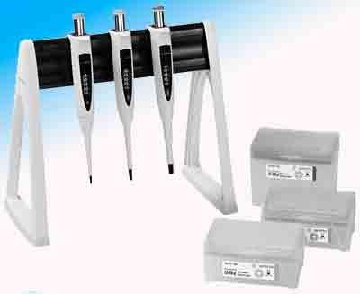 Набор из 3 шт дозаторов Biohit Proline Plus, 100–1000 мкл, 500-5000мкл, 1-10 мл Кат. № LH-728677