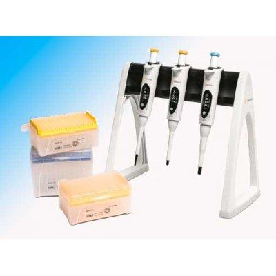 Набор из 3 шт дозаторов Biohit Proline Plus, 2–20 мкл, 20–200 мкл, 100–1000 мкл Кат. № LH-728671