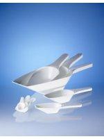 Совок мерный, L=385 мм, 1000 мл, пластиковый PP, белый (39994) (Vitlab)