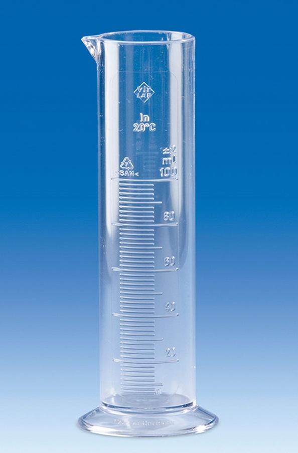 мерный пластиковый цилиндр